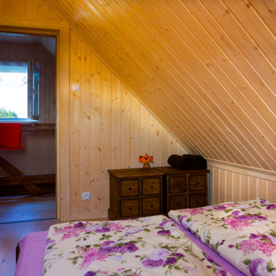 domek Radość - sypialnia